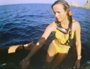 ...and our bikini scuba girl!