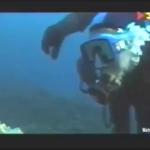....meets someone underwater...