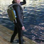 Fancy tank + wetsuit